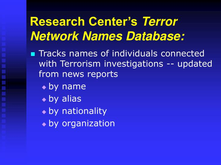 Research Center's