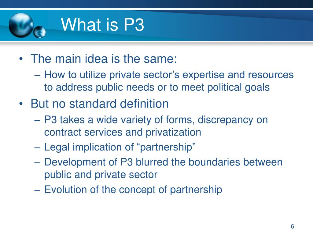 What is P3