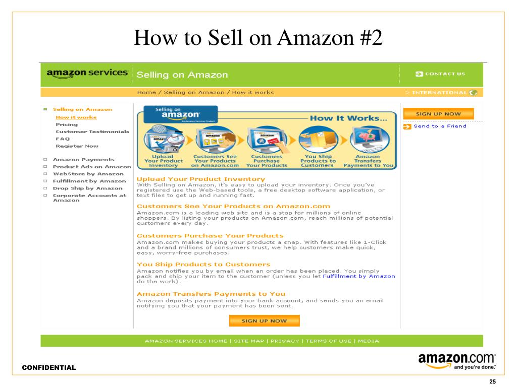 How to Sell on Amazon #2