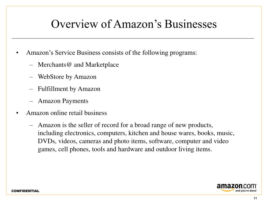 Overview of Amazon's Businesses