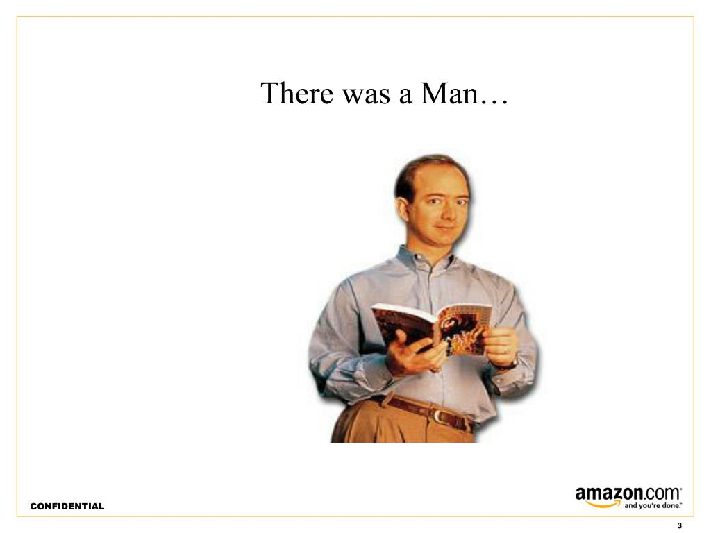 There was a Man…