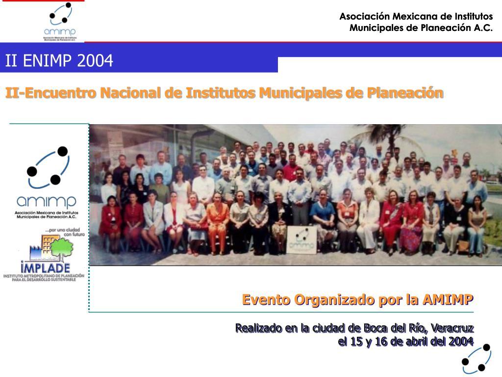 II ENIMP 2004