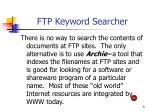 ftp keyword searcher