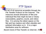 ftp space