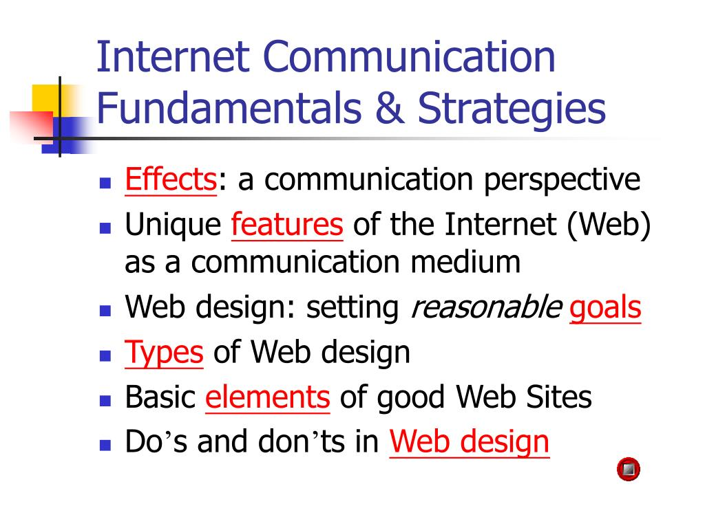 internet communication fundamentals strategies l.