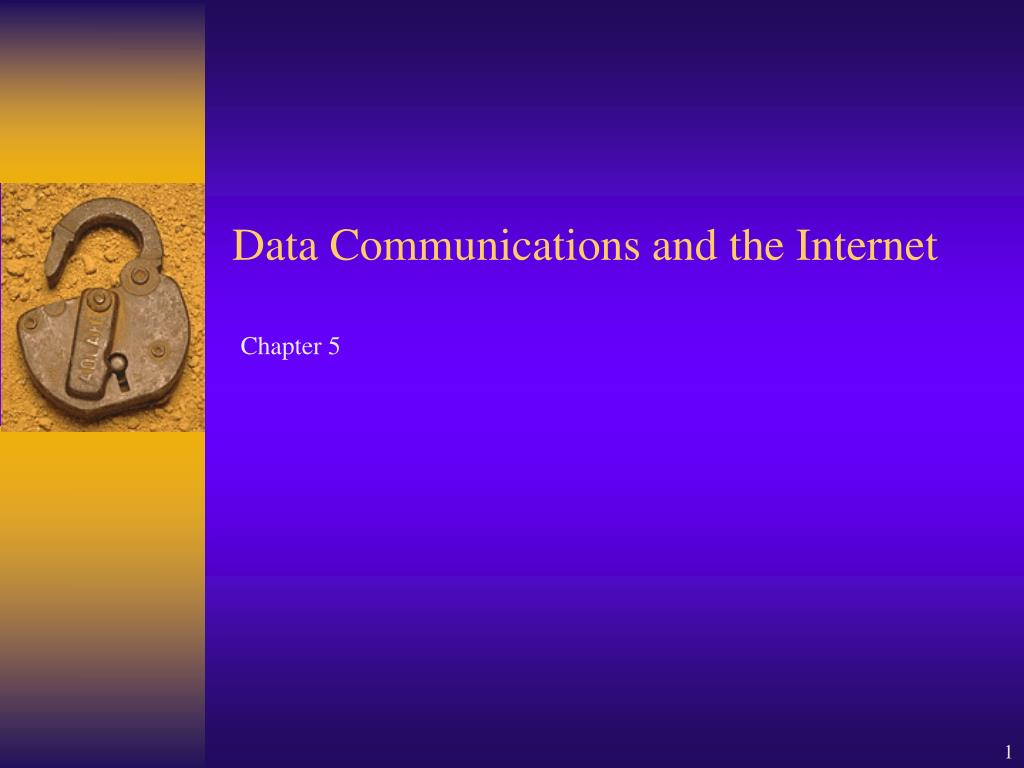 data communications and the internet l.