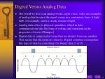 digital versus analog data