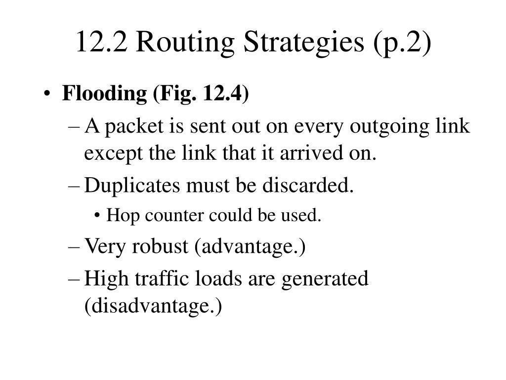 12.2 Routing Strategies (p.2)