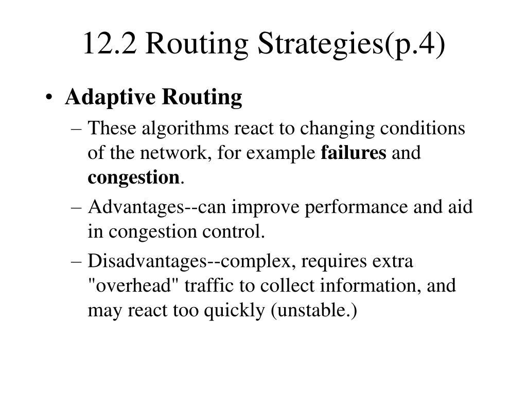 12.2 Routing Strategies(p.4)