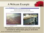 a webcam example