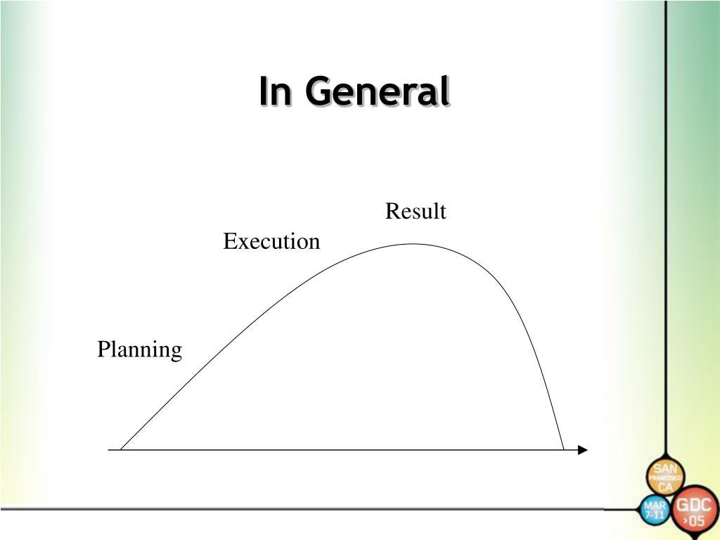 In General