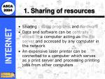 1 sharing of resources14