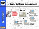 4 easier software management