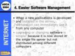 4 easier software management20