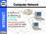 computer network10