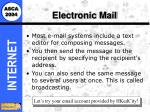 electronic mail71