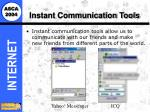 instant communication tools