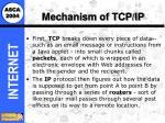 mechanism of tcp ip