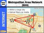 metropolitan area network man