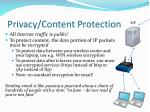 privacy content protection