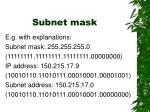subnet mask31