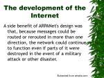 the development of the internet4