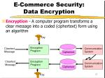 e commerce security data encryption
