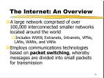 the internet an overview