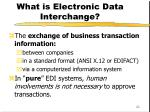 what is electronic data interchange