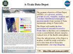 a train data depot