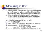 addressing in ipv6