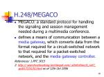 h 248 megaco