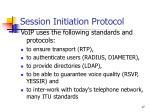 session initiation protocol