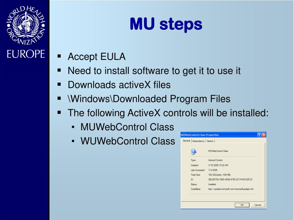 PPT - WSUS Windows Update Services PowerPoint Presentation