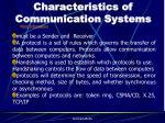 characteristics of communication systems5