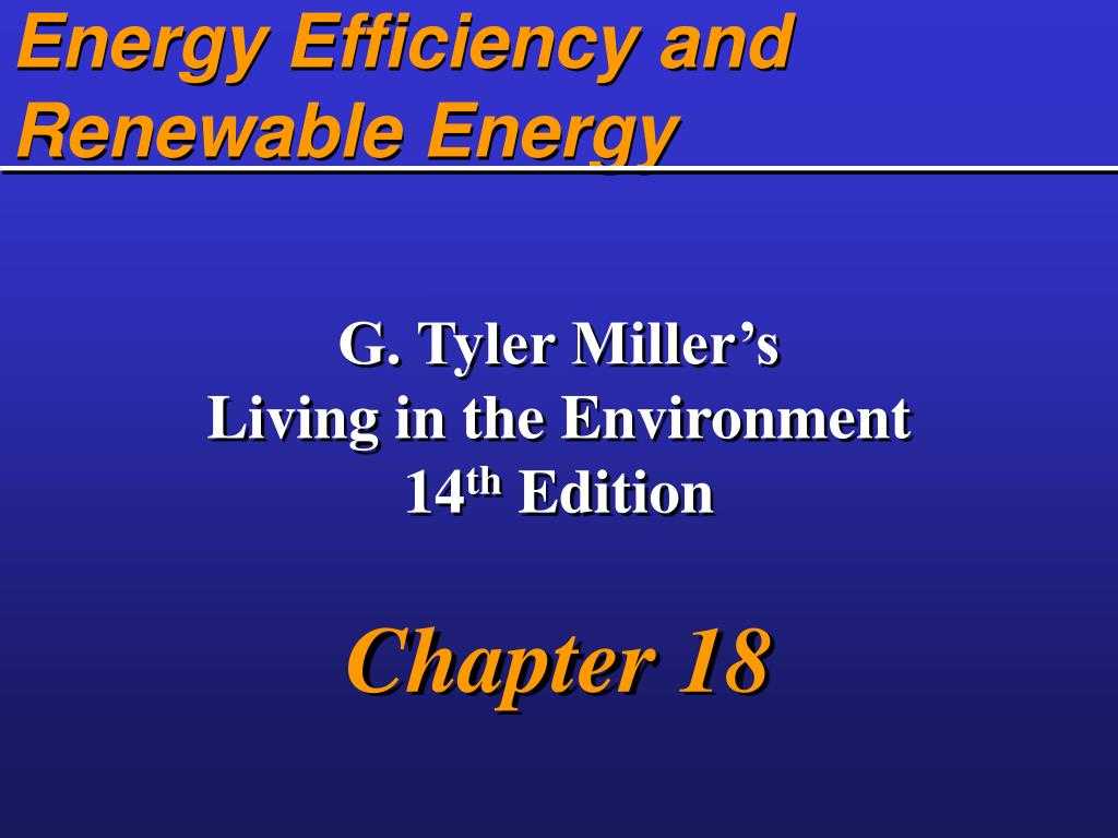 energy efficiency and renewable energy l.