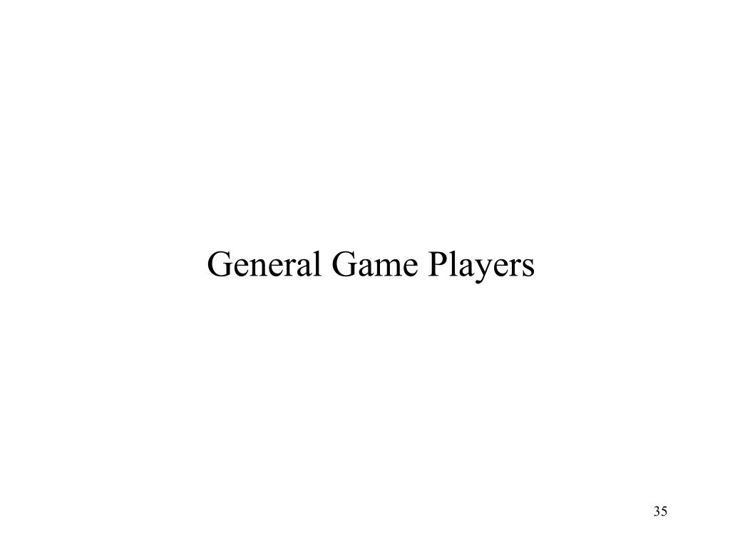 General Game Players