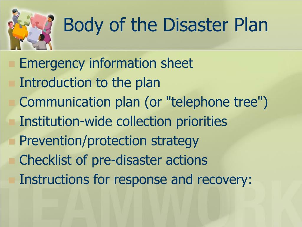 disaster recovery call tree template