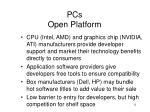 pcs open platform