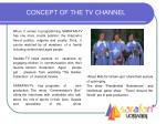 concept of the tv channel4