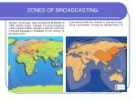 zones of broadcasting13
