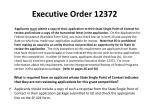 executive order 12372