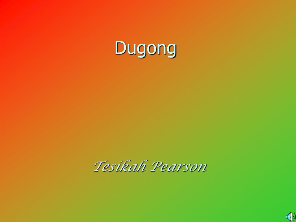 dugong l.