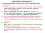 characterising modern behavioural economics iv