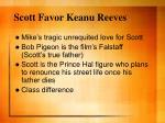 scott favor keanu reeves