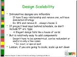 design scalability