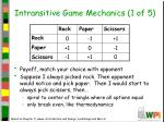 intransitive game mechanics 1 of 5