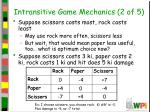 intransitive game mechanics 2 of 5