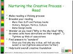 nurturing the creative process read