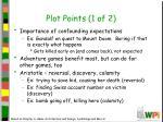 plot points 1 of 2